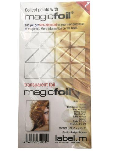 label.m Magiczne 20cm folia x 500ks Napełnij podstawkę