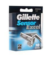 Gillette Sensor Excel zapasowe ostrza 10 ks Dla mężczyzn