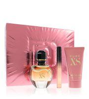 Paco Rabanne Pure XS For Her woda perfumowana 50 ml + balsam do ciała 75 ml + woda perfumowana 10 ml Zestaw upominkowy dla kobiet