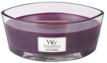 WoodWick Spiced Blackberry świeca zapachowa z drewnianym knotem 453,6 g