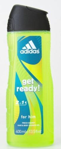 Adidas Przygotuj się! Żel pod prysznic 400 ml M