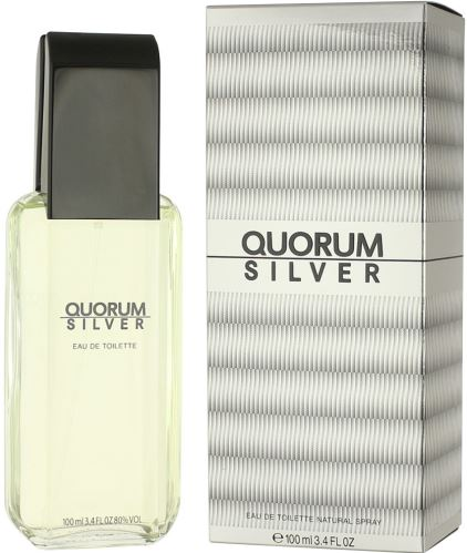 Antonio Puig Quorum Silver EDT 100 ml Dla mężczyzn