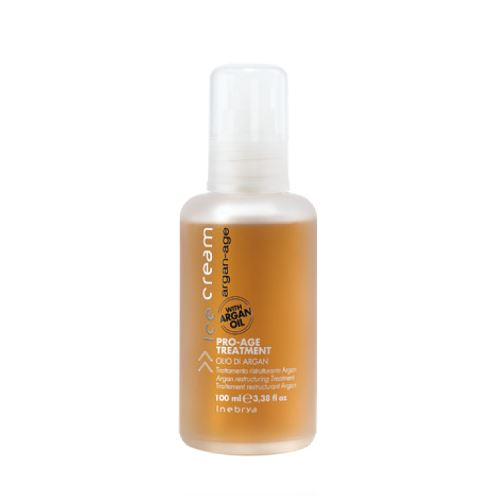 INEBRYA ARGAN-AGE Pro-Age Treatment olej na vlasy s arganem 100 ml Dla kobiet