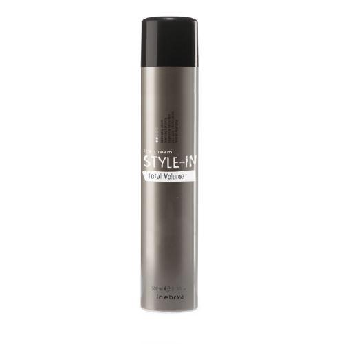 Inebrya Total Volume Lakier do włosów zwiększający objętość włosów o stałym utrwaleniu 500 ml