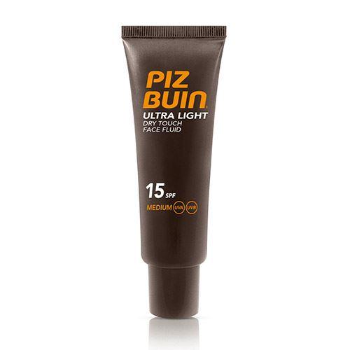 Piz Buin Ultra Light Touch pralnia twarzy SPF 15 50 ml