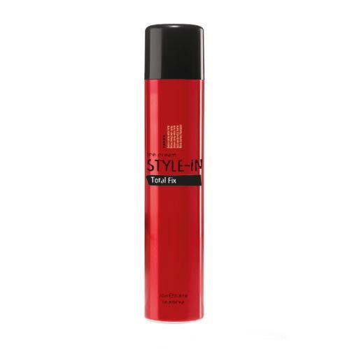 Inebrya Total Fix lakier do włosów z bardzo silnym utrwaleniem 750 ml