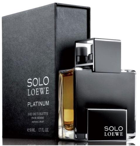 Loewe Solo Loewe Platinum EDT 50 ml Dla mężczyzn