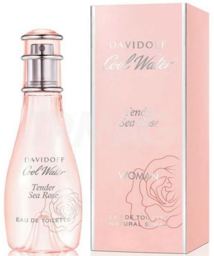 davidoff cool water tender sea rose