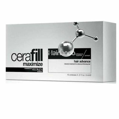 Maksymalizacja Cerafill Redken włosów Advance 10 x 6 ml