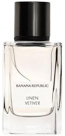 banana republic linen vetiver