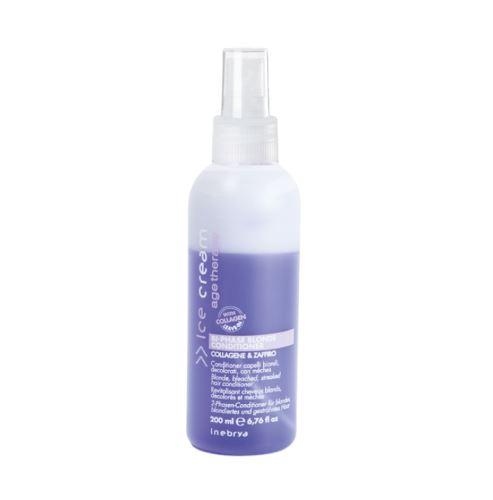 Inebrya AGE THERAPY Bi-Phase Blonde Odżywka dwufazowa odżywka 200 ml