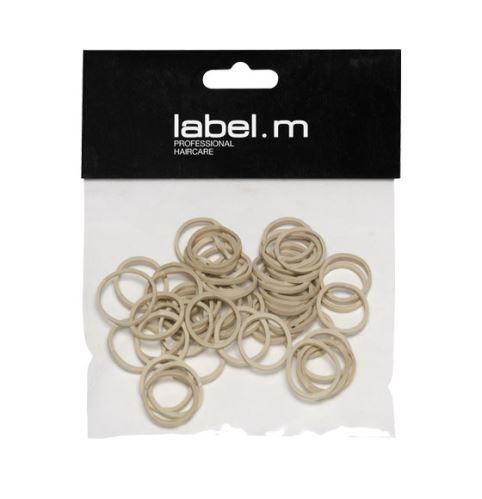 Dobrze Zespoły label.m Pull oplatania Beige 15 mm (50) / 15 mm beżowe 50szt pierścieniowe