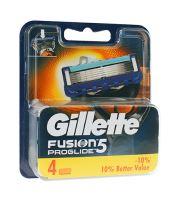 Gillette Fusion Proglide zapasowe ostrza 4 ks Dla mężczyzn
