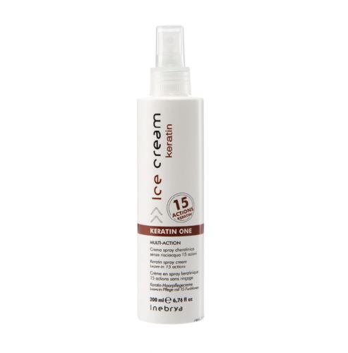 Inebrya Keratin One Spray z keratyną z 15 efektami bez spłukiwania 200 ml