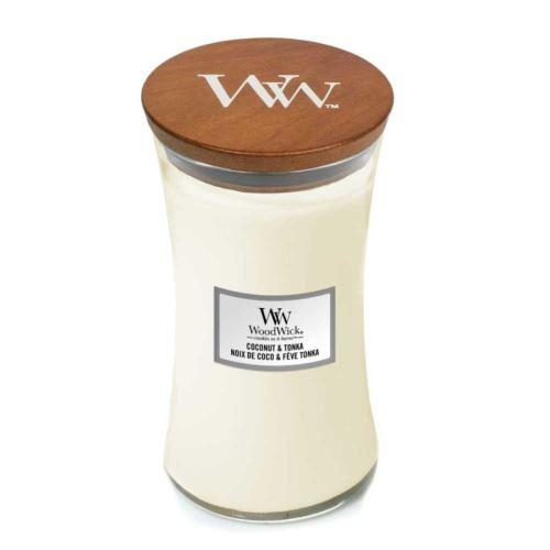 Świeca zapachowa WoodWick Coconut & Tonka 609,5g