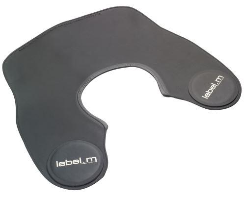 label.m cięcia kołnierz na czarno
